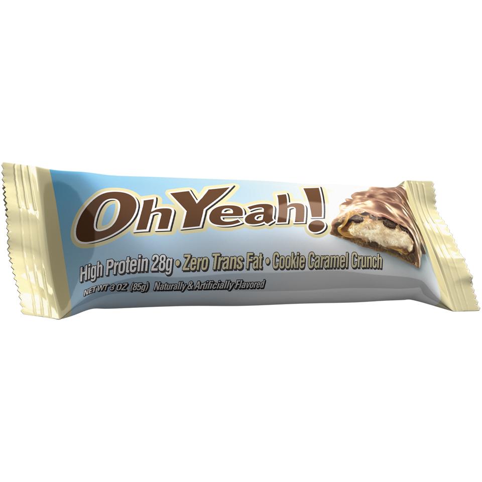ISS OhYeah! Original Bar  Cookie caramel crunch - ISS