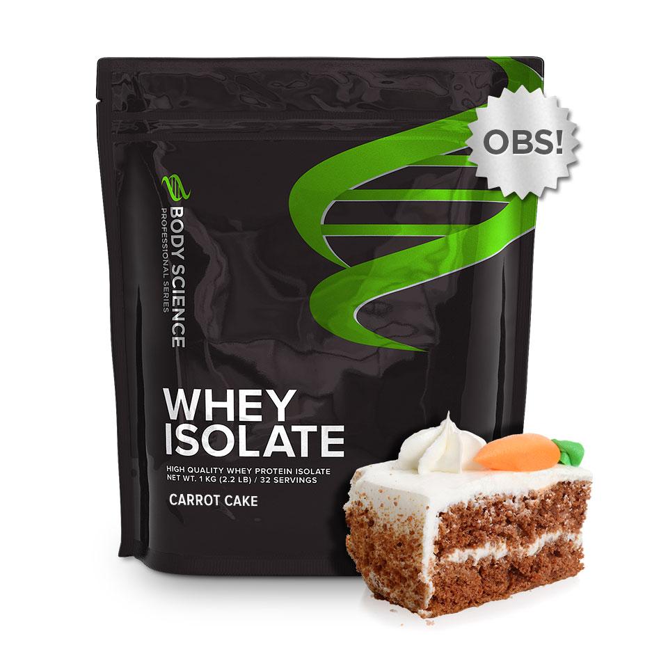 Whey Isolate - Carrot Cake