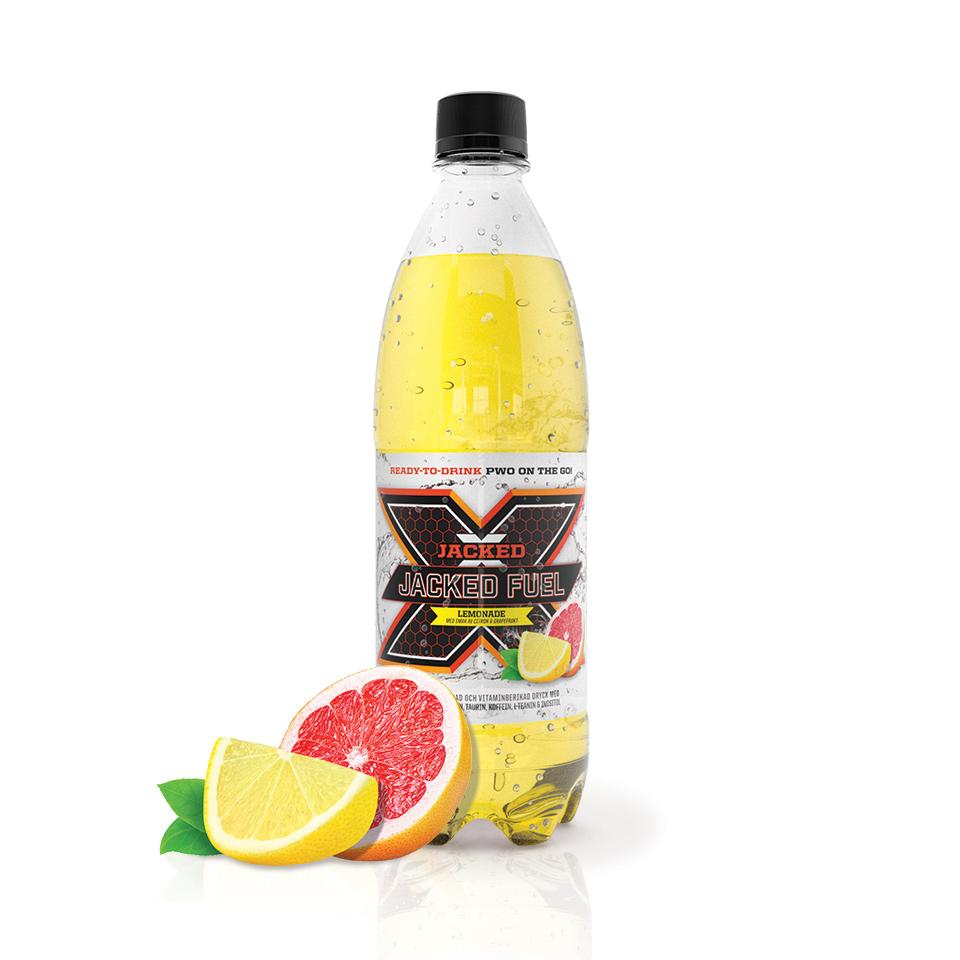 Energidryck – Jacked Fuel, 500 ml, Lemonade - JACKED