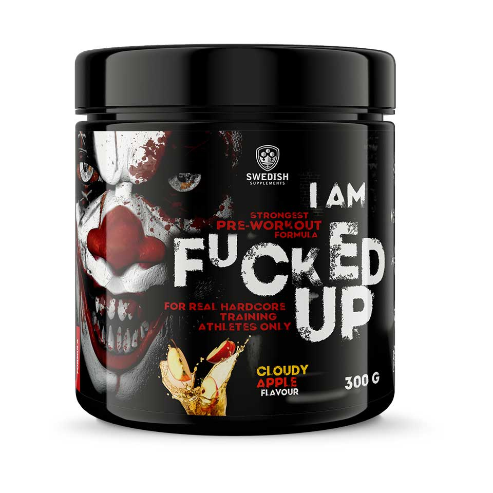 Swedish Supplements F#cked Up Joker Cloudy Apple PWO
