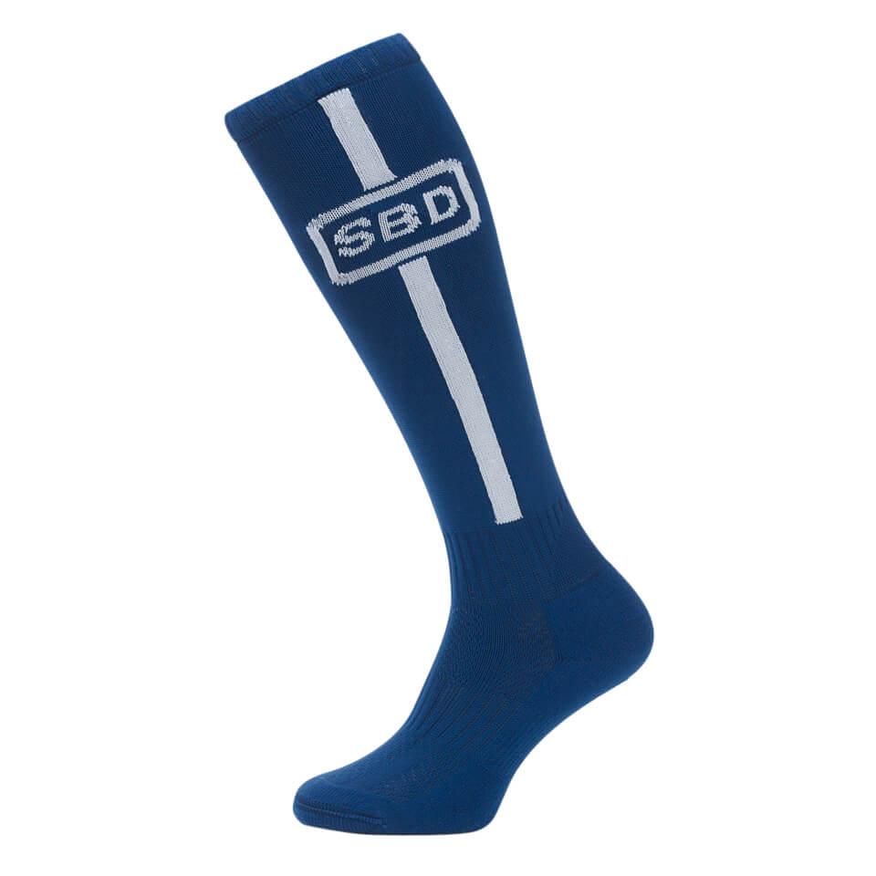 SBD Deadlift Socks, Blue/White