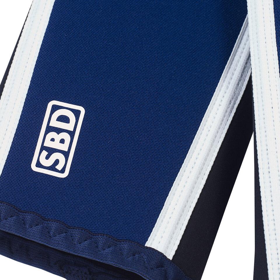 SBD-logga på armbågsskydd