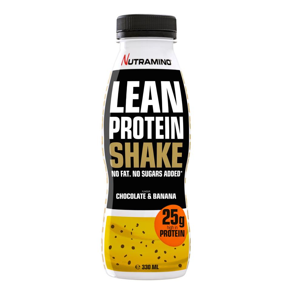 Nutramino Lean Protein Shake 330 ml Chocolate & Banana - Nutramino
