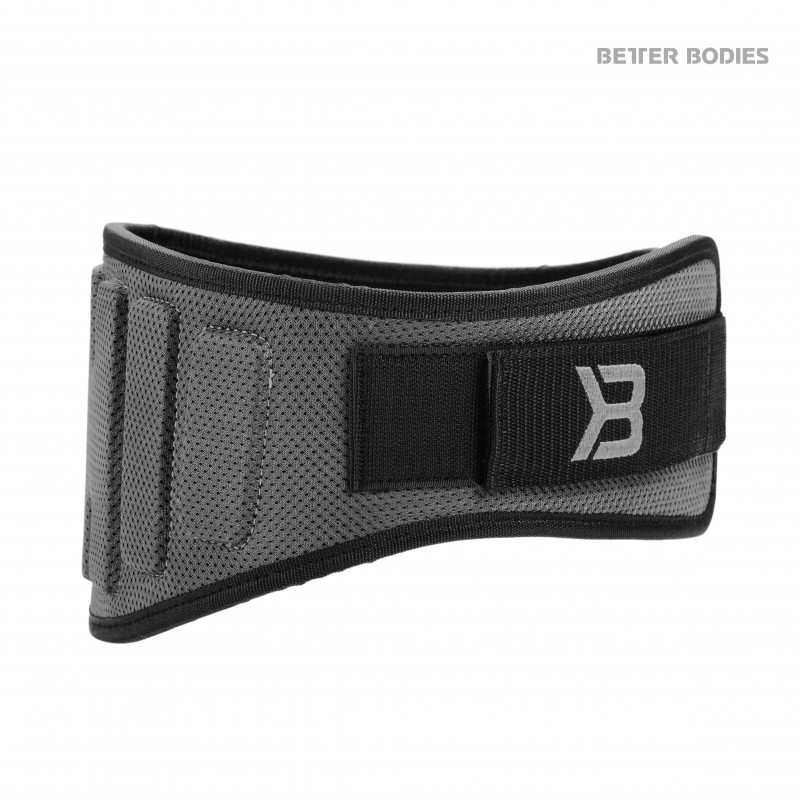 Better Bodies Pro Lifting Belt Grey S - Better Bodies