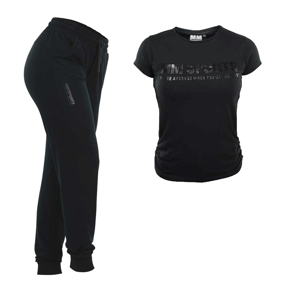 Lounge Wear Set, Black