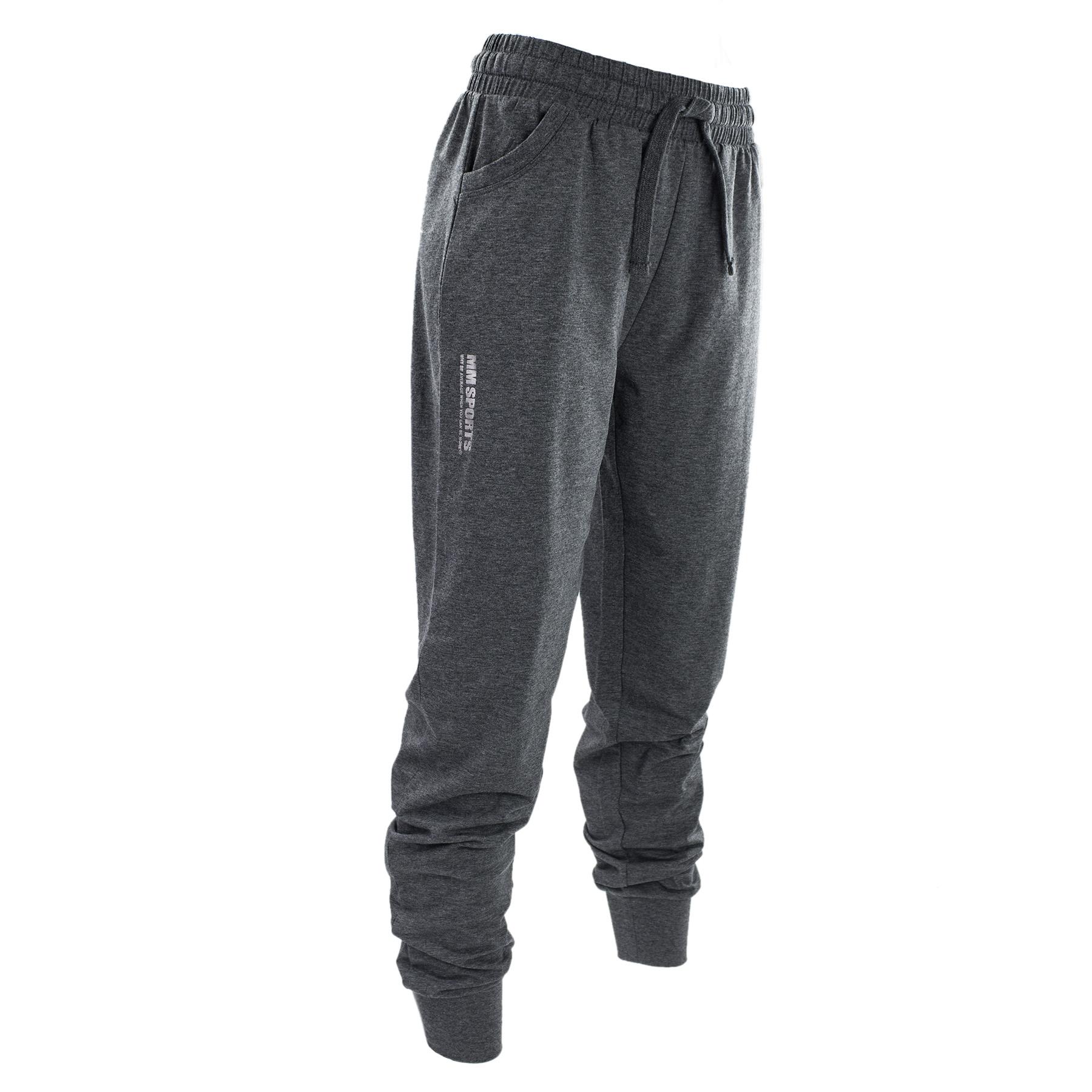 Träningsbyxor – MM Sports Pants Tahnee (Dam) - Dark Greymelange, XS - Träningskläder