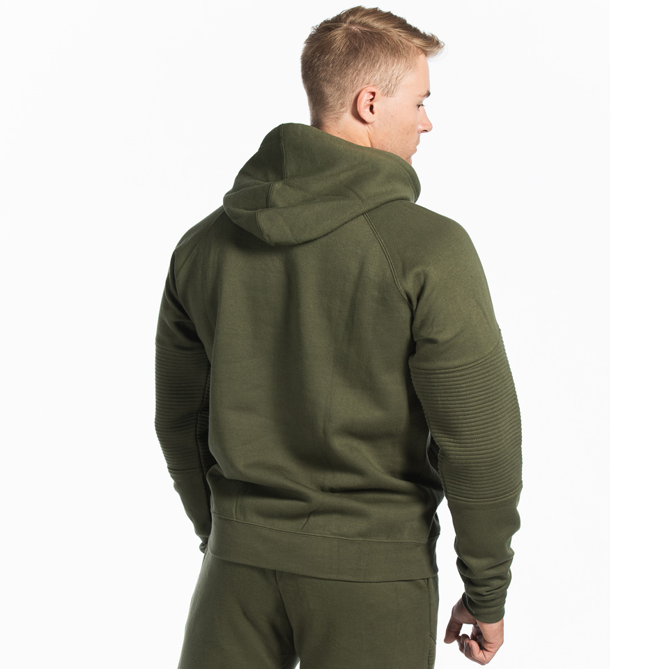 MM Sports Basic Hoodie Christian Army Green Back