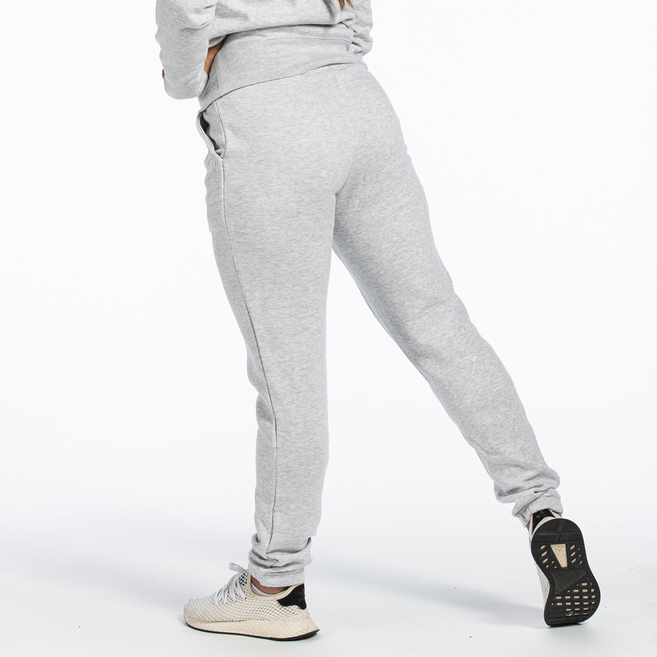 MM Sports Basic Pant Christie Light Greymelange byxor bakifrån