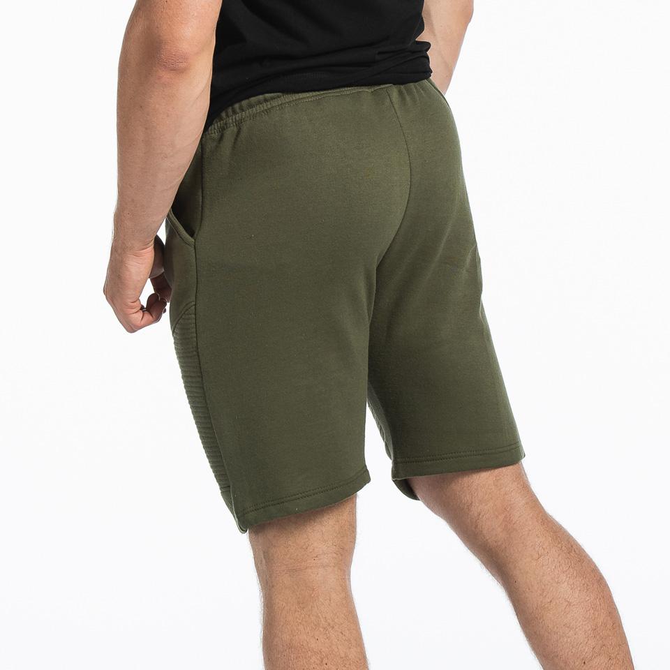 MM Sports Basic Shorts Christian Army Green Back