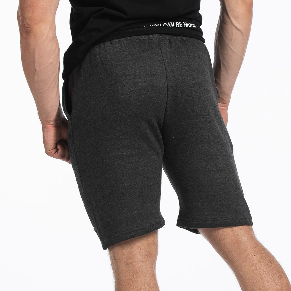 MM Sports Basic Shorts Christian Dark Greymelange Back