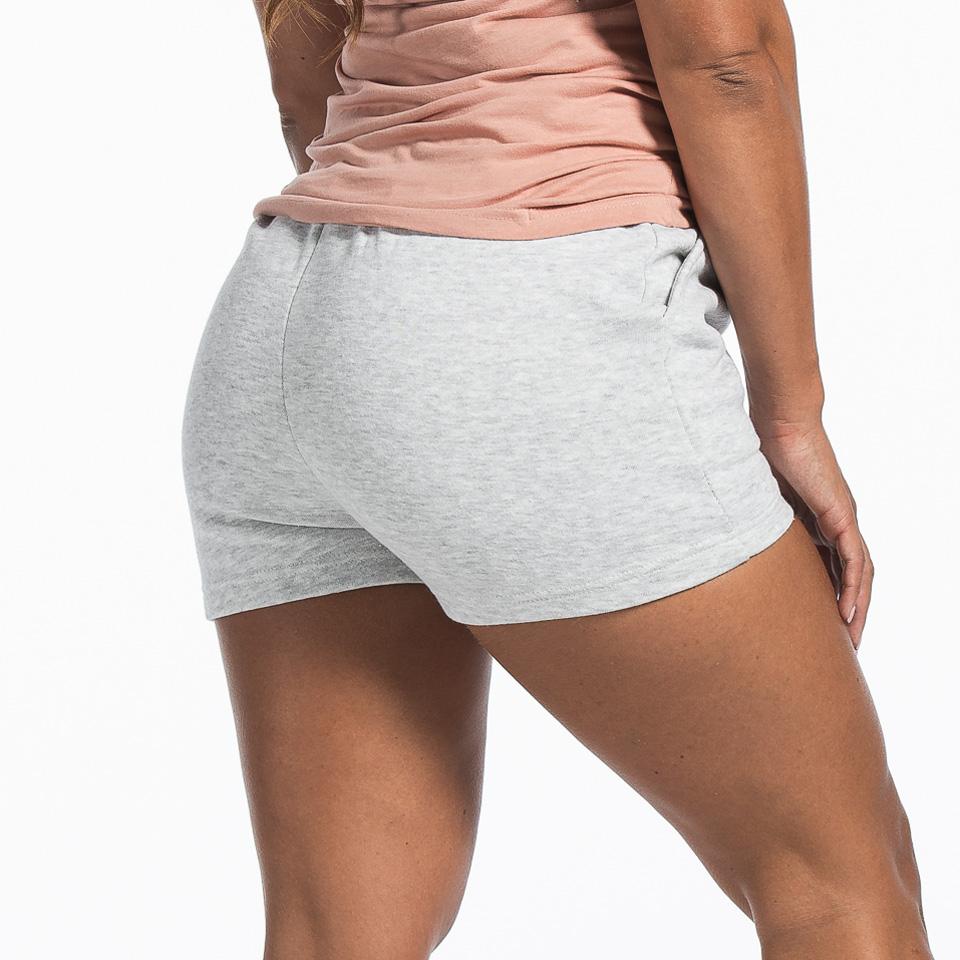 MM Sports Basic Shorts Christie Light Greymelange bak