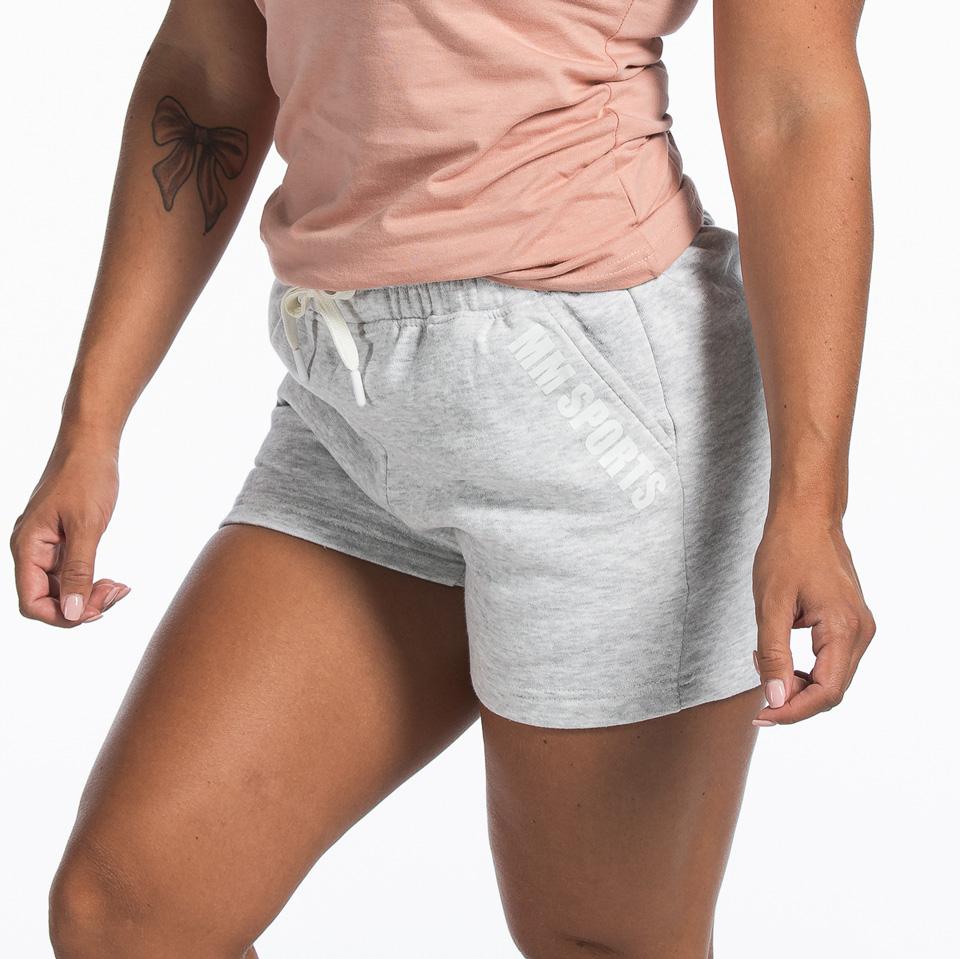 Basic Shorts Christie, Light Grey Melange