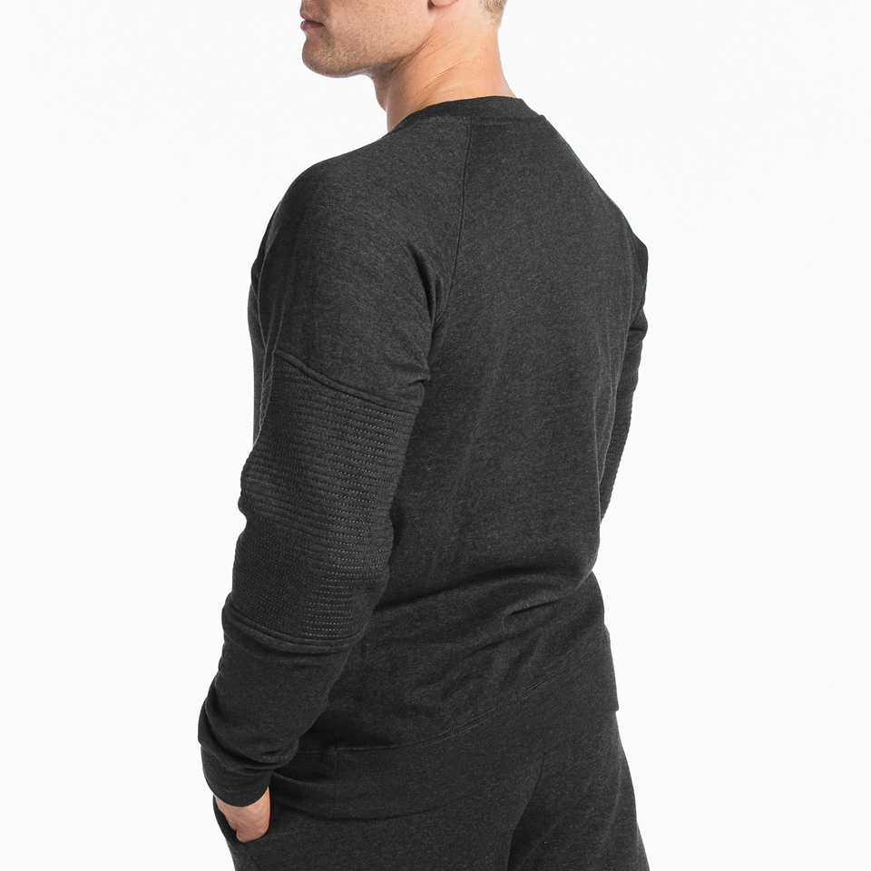 MM Sports Basic Sweater Christian Dark Greymelange Back