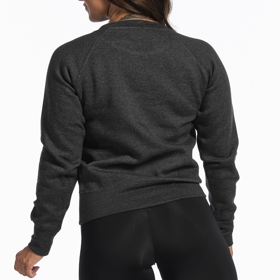 MM Sports Basic Sweater Christie Dark Greymelange Back