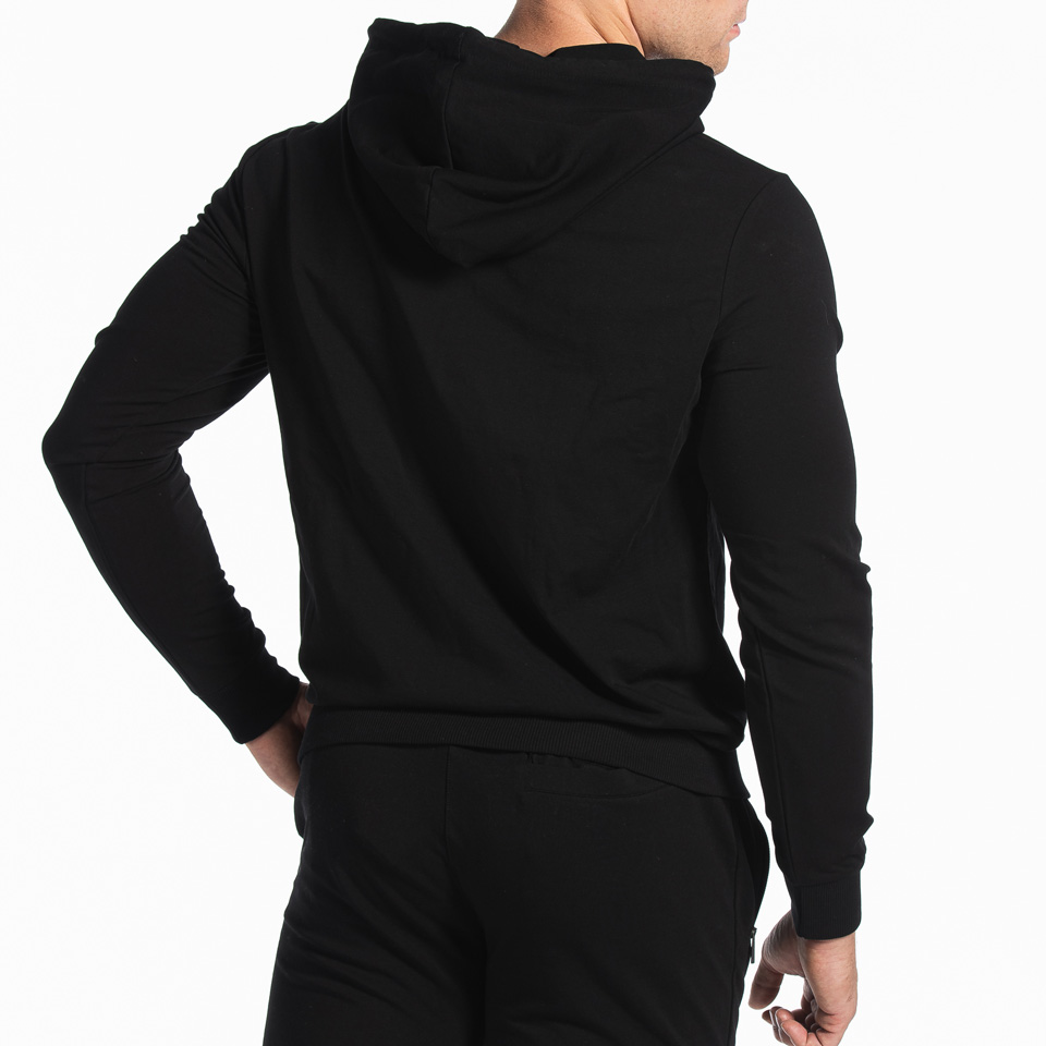 MM Sports Box Hoodie Amir, Black, Back