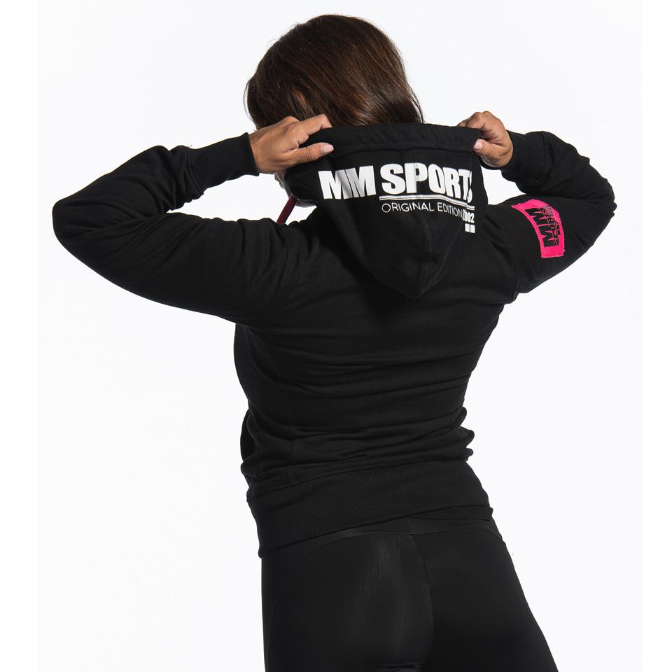MM Sports MM Hood Est 2002 Ajla, Black/Pink, Back