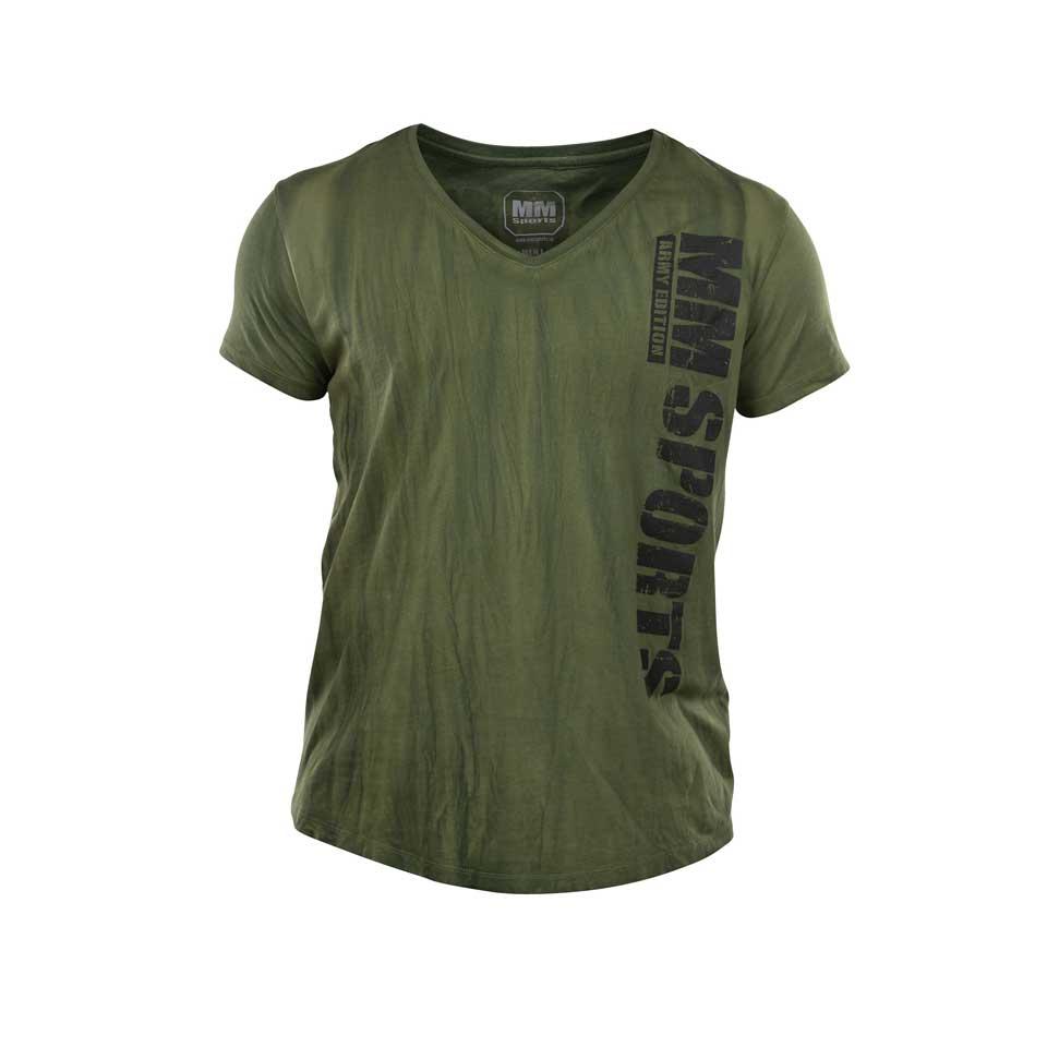 MM V-Tee Random Men, Army Green