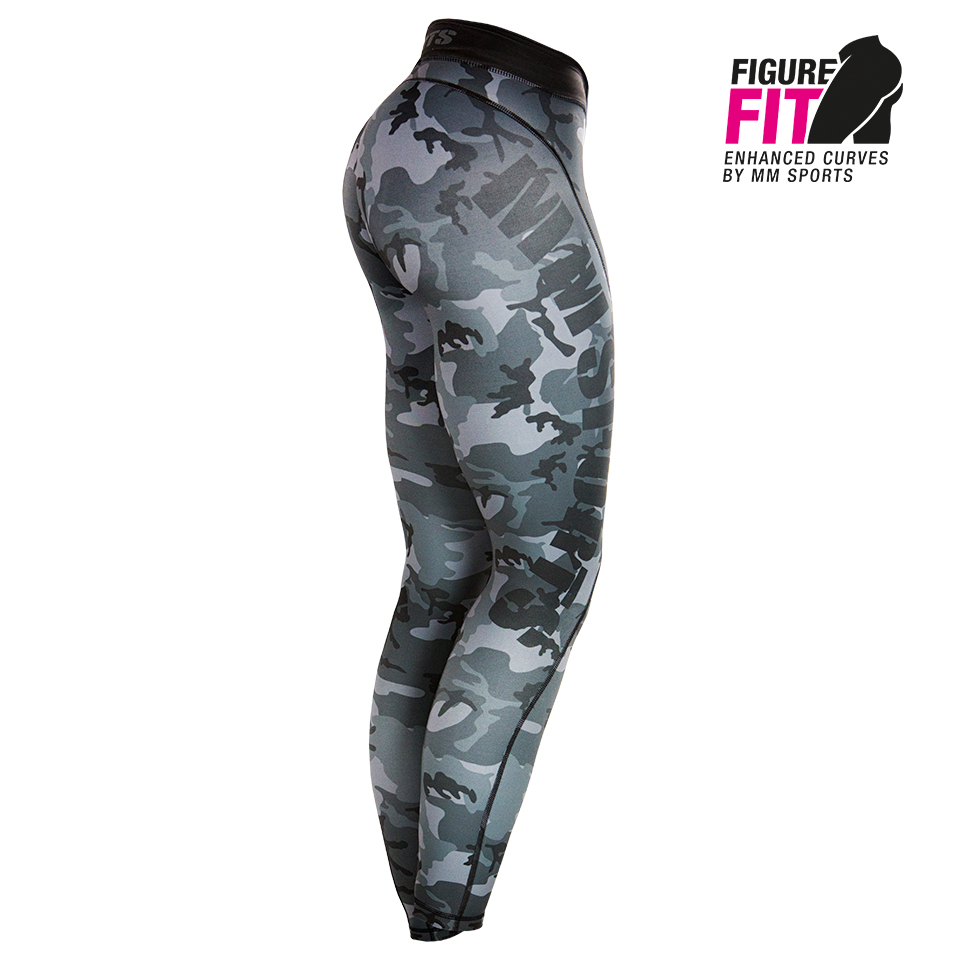 MM Camo Tights, Army Black