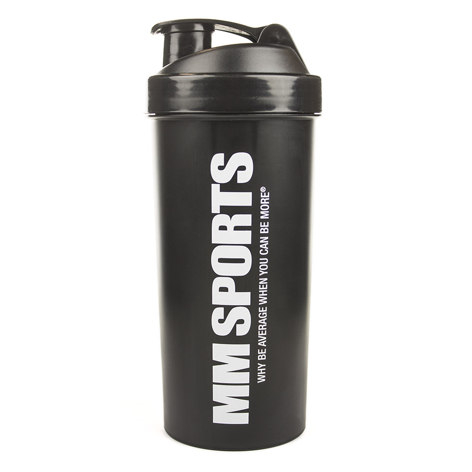 MM Sports Hardcore Shaker 1L, Black – Shakers, Träningstillbehör - MM Sports