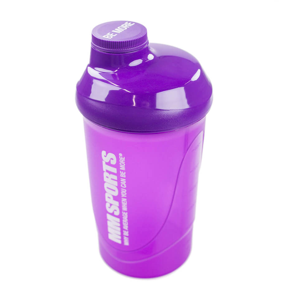 MM Sports Shaker, 600 ml, Purple - Träningstillbehör - MM Sports