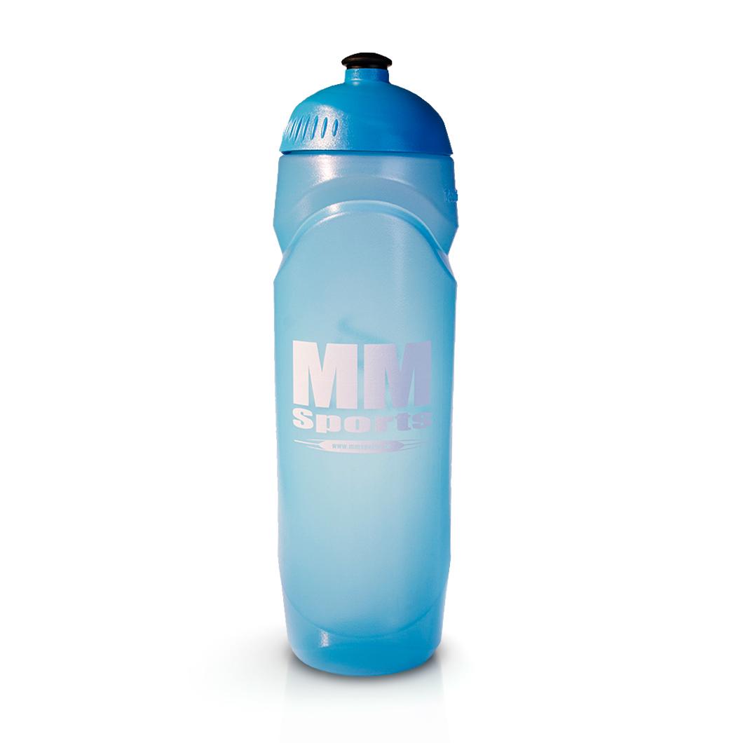 Vattenflaska – MM Sports Water Bottle, 750 ml, Aqua - Träningstillbehör - MM Sports