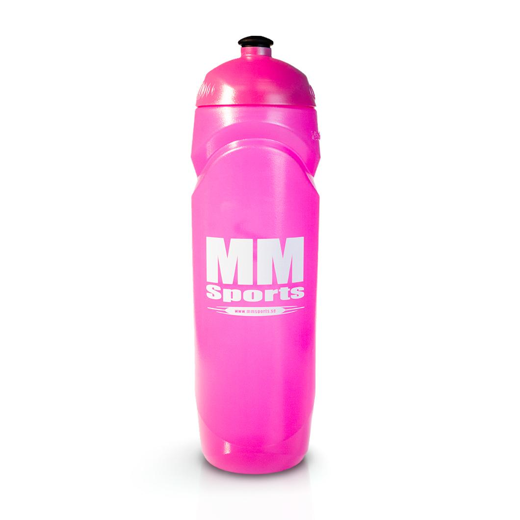 Vattenflaska – MM Sports Water Bottle, 750 ml, Pink - Träningstillbehör - MM Sports