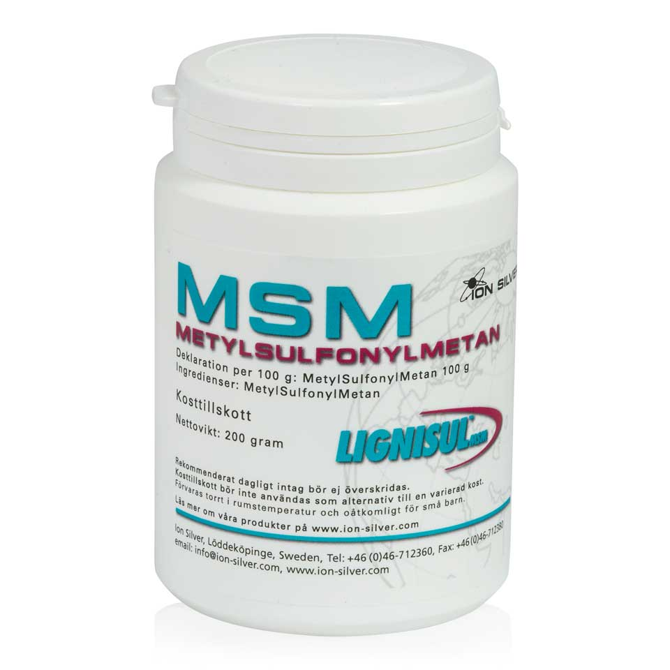 Ion-Silver Lignisul MSM