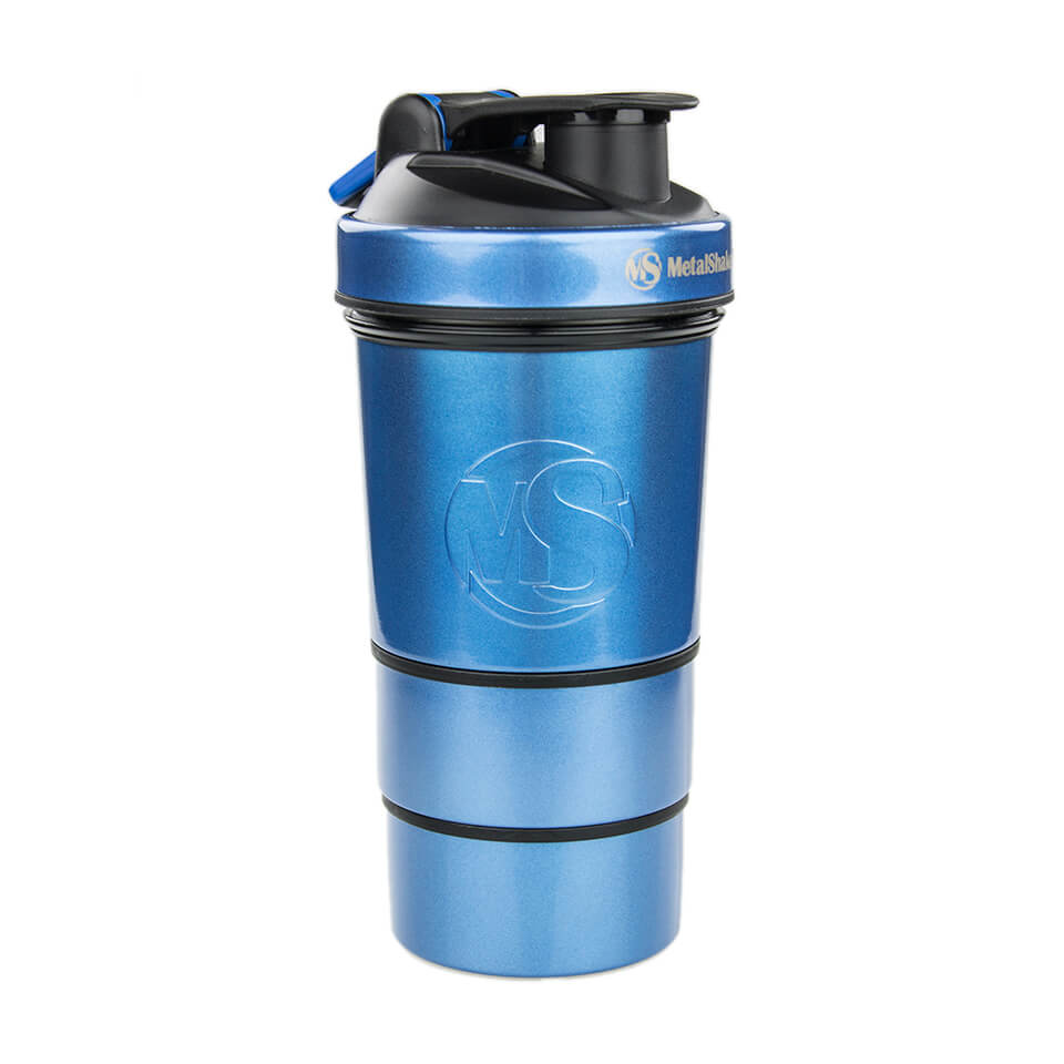 MetalShake by Sweden MetalShake 600 ml Blue Pearl Steel - MetalShake by Sweden