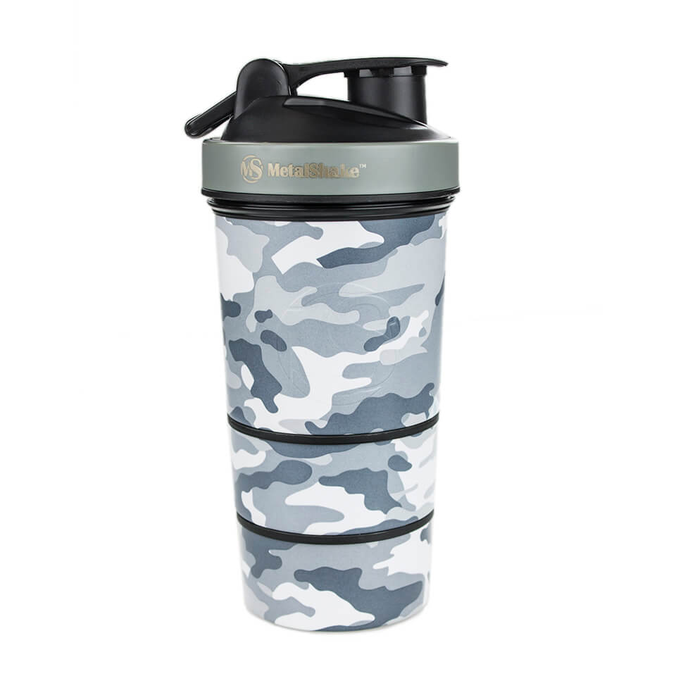 MetalShake by Sweden MetalShake 600 ml Urban Camo - MetalShake by Sweden