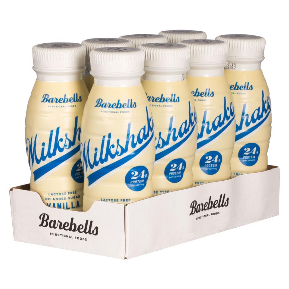 8 stycken Barebells Milkshake Vanilla