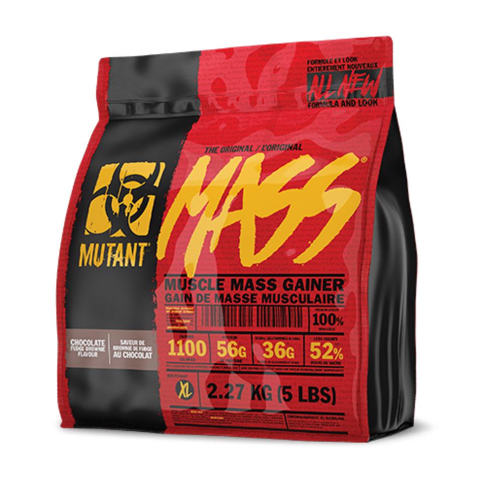 Mutant Mass 2,27 kg Chocolate Fudge Brownie Gainer
