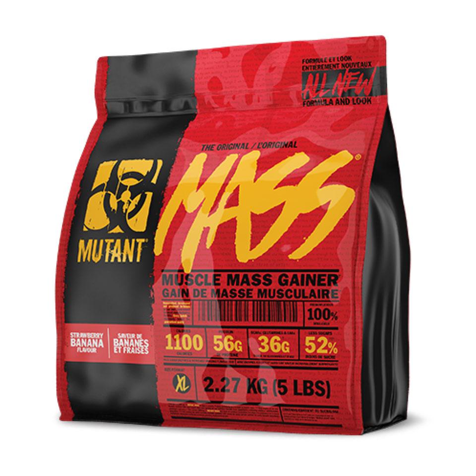 Mutant Mass 2,27 kg Strawberry Banana Gainer