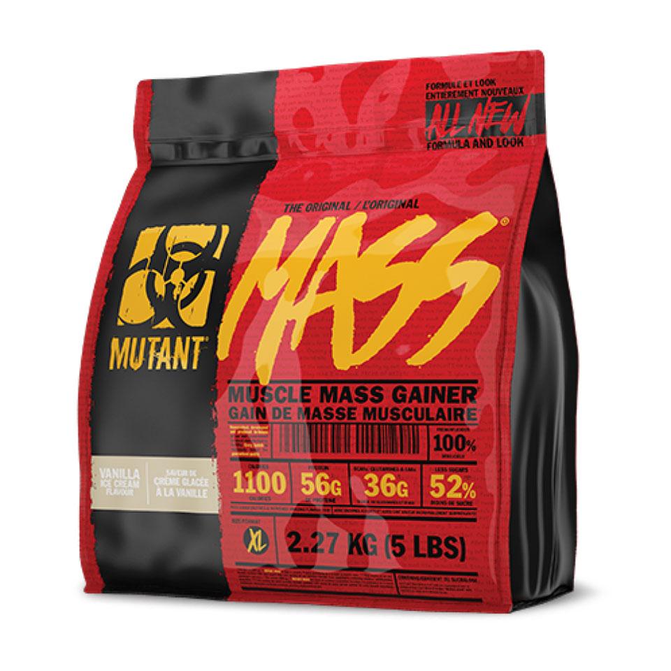 Mutant Mass 2,27 kg Vanilla Ice Cream Gainer