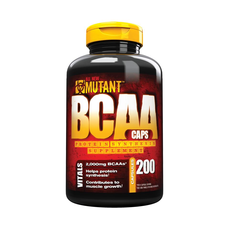 Mutant BCAA Caps 200 kapslar - Mutant