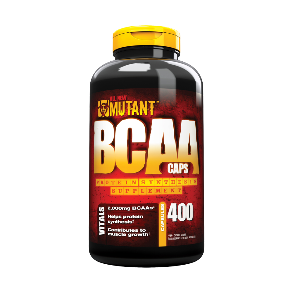 Mutant BCAA Caps 400 kapslar - Mutant