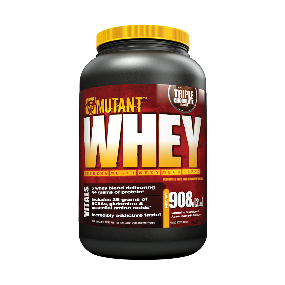 Mutant Whey 0,9 kg Triple Chocolate - Mutant