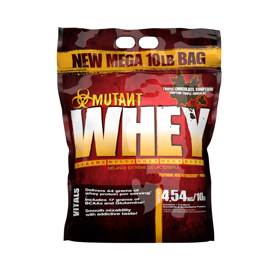 Mutant Whey Triple Chocolate 4,54 kg - Mutant
