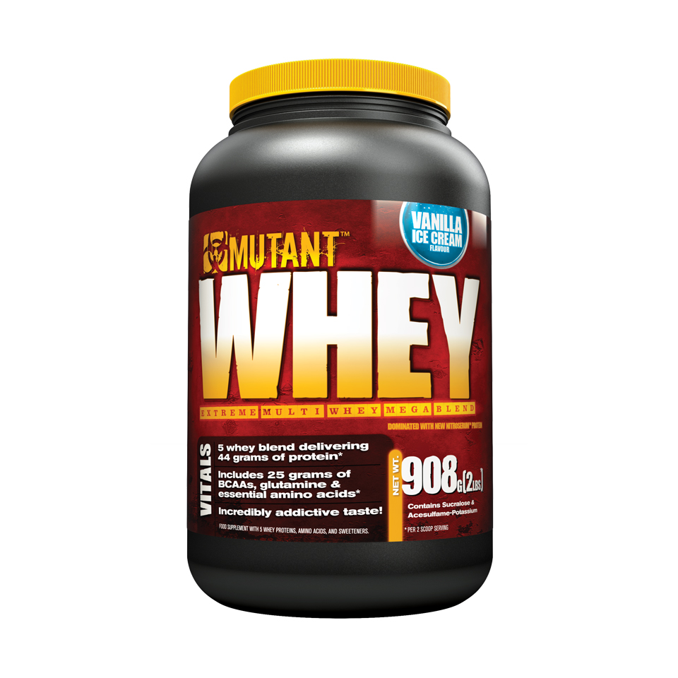 Mutant Whey 0,9 kg Vanilla Ice Cream - Mutant