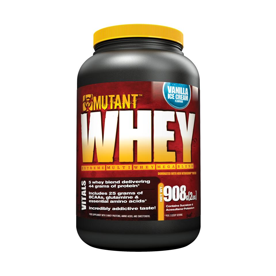 Mutant Whey 0,9 kg Vanilla Ice Cream - Mutant