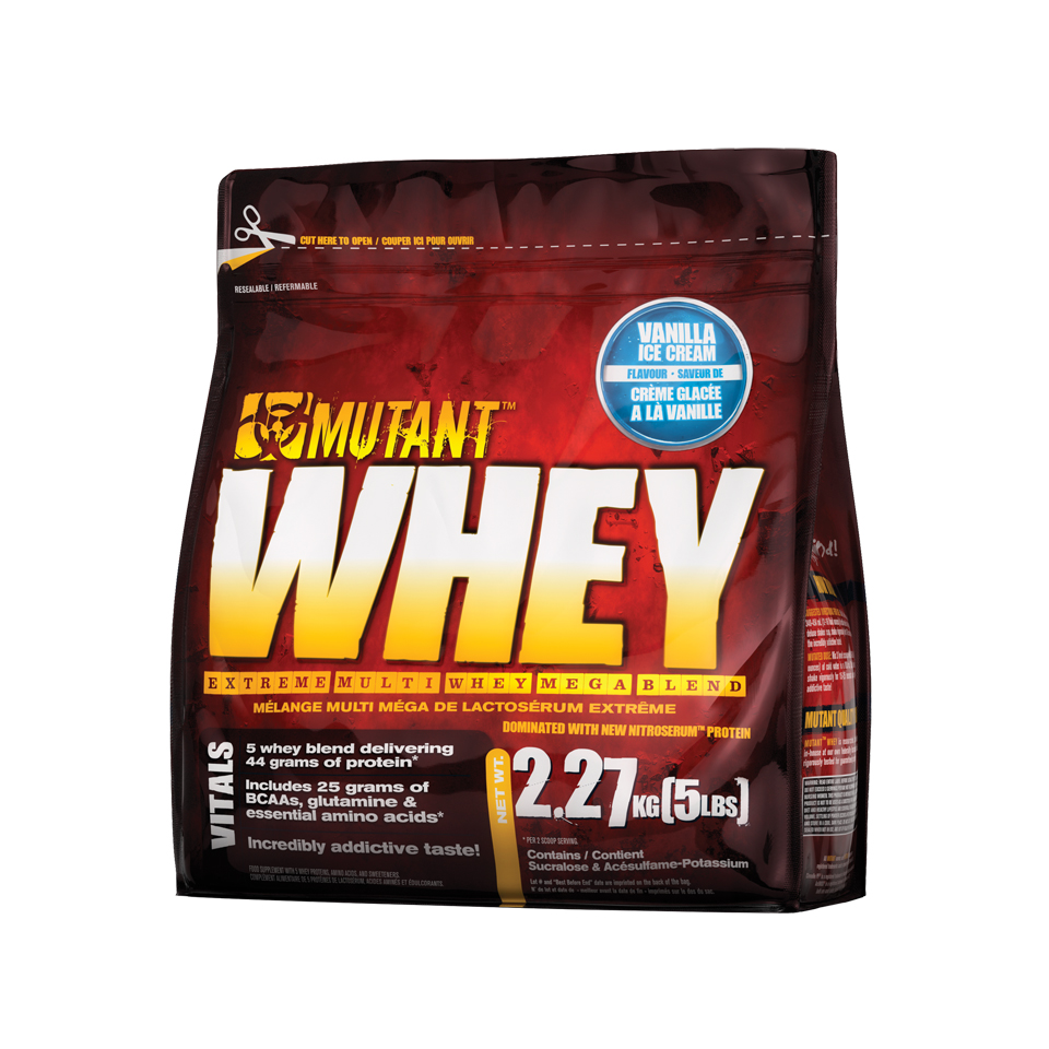 Mutant Whey Vanilla Ice Cream 2,27 kg - Mutant