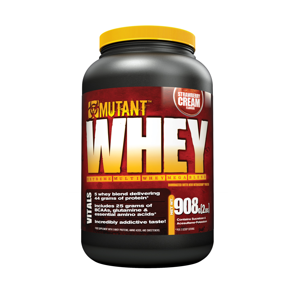 Mutant Whey 0,9 kg Strawberry Cream - Mutant