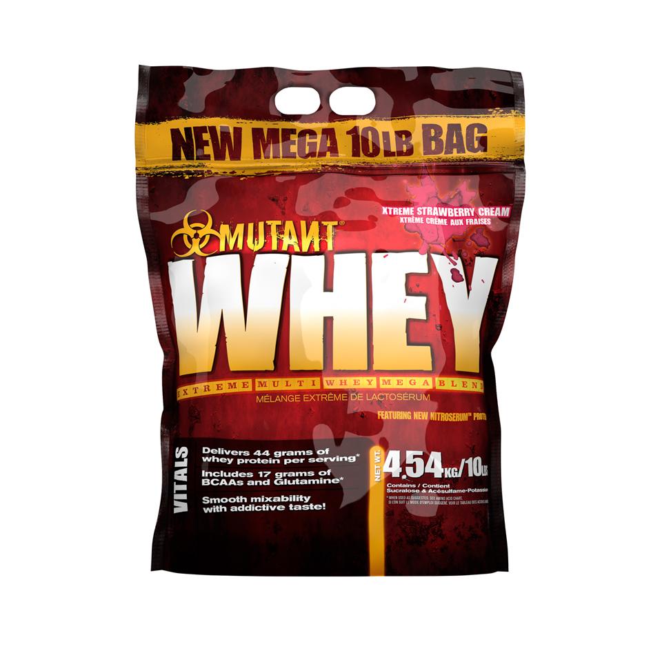 Mutant Whey Strawberry Cream 4,54 kg - Mutant