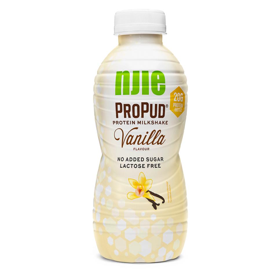 propud milkshake innehåll