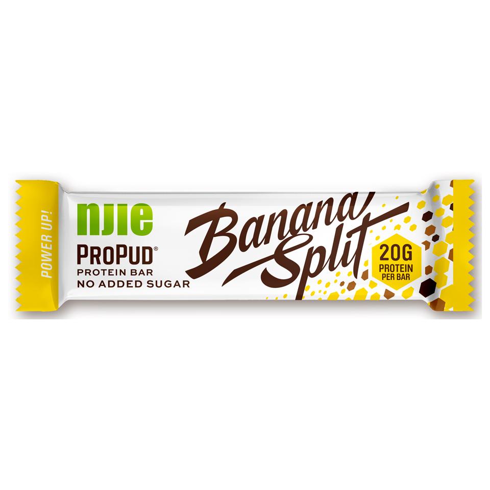 NJIE Protein Bar 55 gram Banana Split - Njie