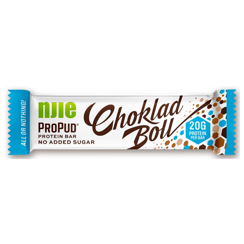 NJIE Protein Bar 55 gram Chokladboll - Njie
