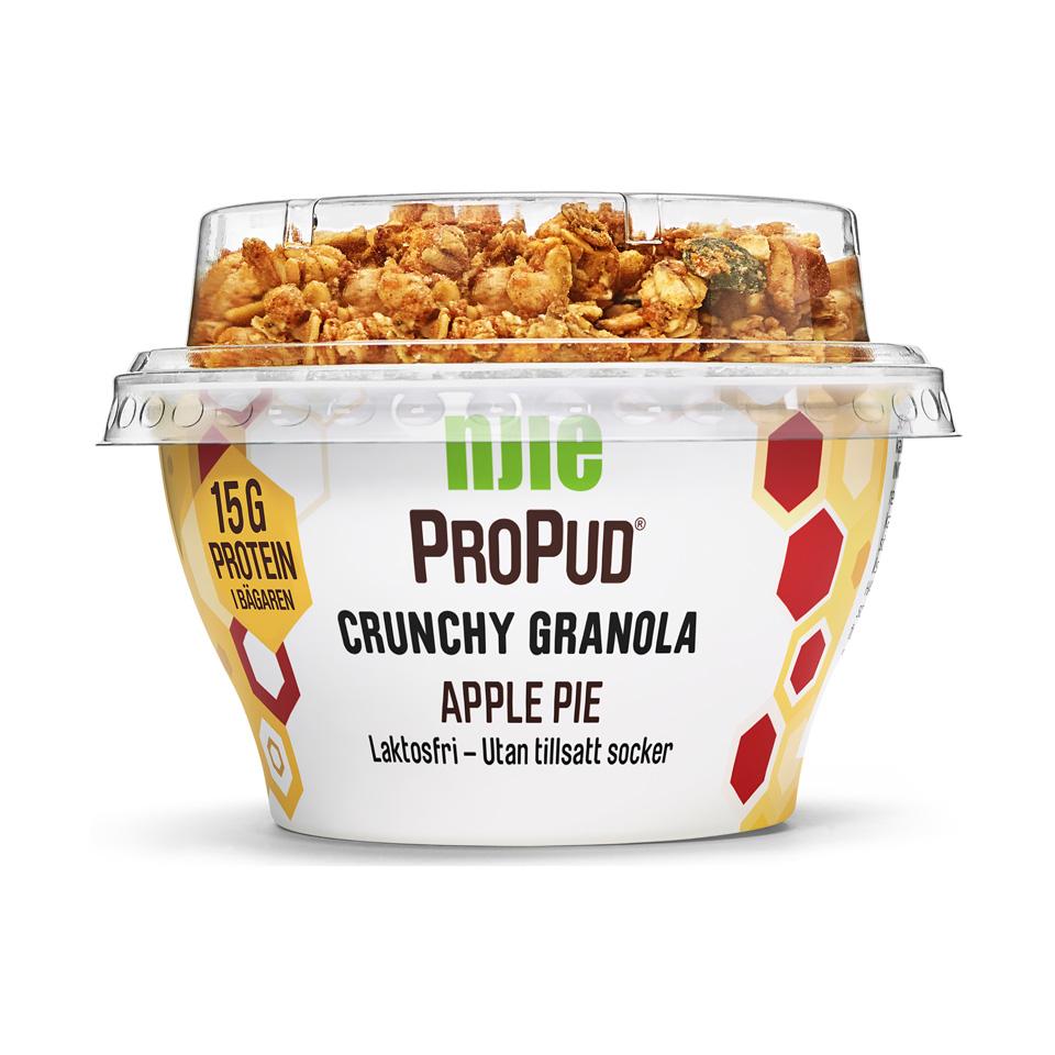 NJIE ProPud Crunchy Granola 165 gram Apple Pie - Njie