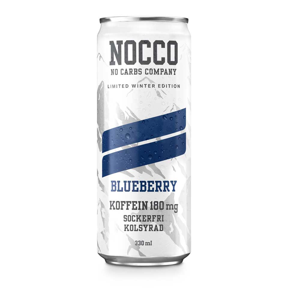 NOCCO BCAA Blueberry Limited Edition