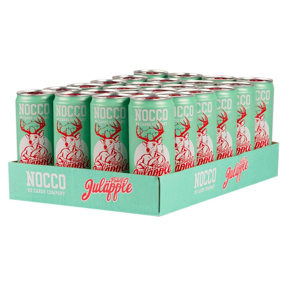 NOCCO BCAA Flak 24-pack Juläpple
