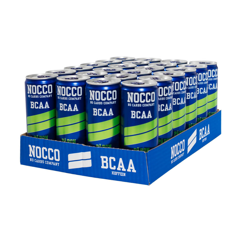 NOCCO BCAA Flak 24-pack Päron