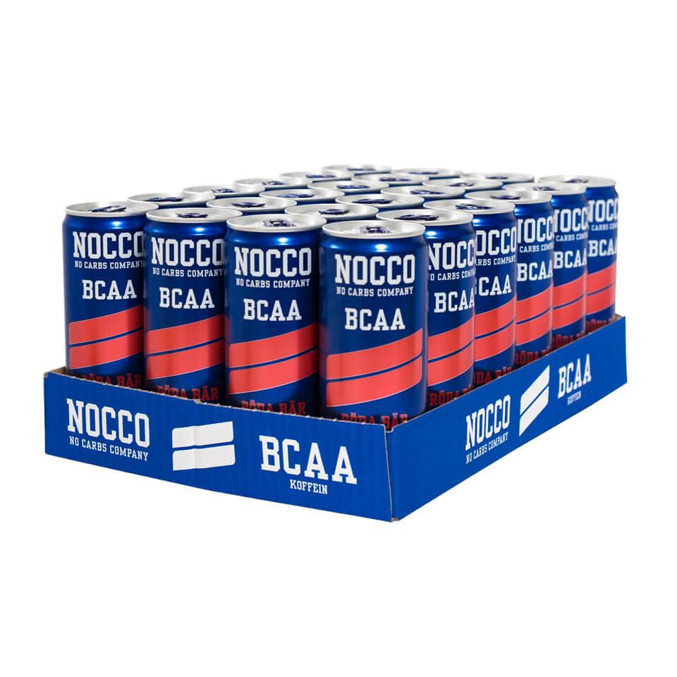 NOCCO BCAA Flak 24-pack Röda Bär